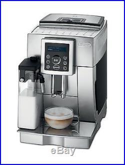 Coffee Machine De'longhi Automatic Espresso Cappuccino Maker Latte And Steam Hot