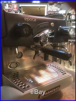 Coffee Machine Espresso 1 Group Rancilio Epoca S No Mazzer Grinder Cheap Home