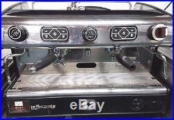 Coffee Machine Espresso Cappuccino Maker Machine Professional Italian 2 Group
