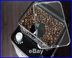 Coffee Machine Espresso Grinder Maker Bean To Cup Home Office Cups