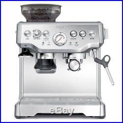 Coffee Machine Grinder Maker Espresso Automatic Barista Steam Milk Hot Filter