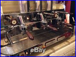 Commercial 3 group coffee / espresso machine plus grinder