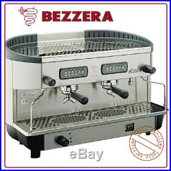 Commercial Coffee Espresso Machine 2 Group Bezzera Ellise