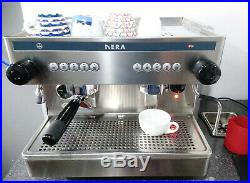 Commercial Coffee Espresso Machine 2 Group Compact inc 2 Handles Ital Nera