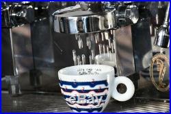 Commercial Coffee Espresso Machine Compact 2 Group Fiorenzato Espresso Italy