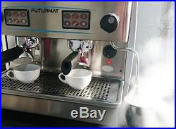 Commercial Coffee Machine Quality Espresso 2 group compact