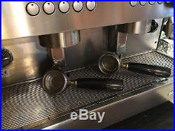 Commercial Espresso Coffee Machine 2 Group Fullsize Visacrem Nera (£4000 new)