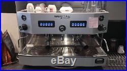 Commercial Espresso Coffee Machine Iberital Junior 2 group