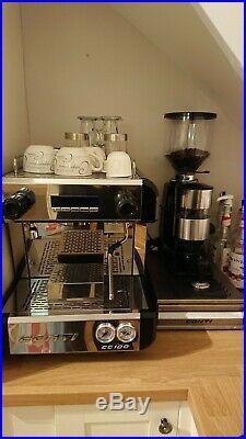 Conti CC100 Commercial Espresso Machine with Duamar coffee grinder/dispenser