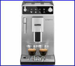DELONGHI Autentica ETAM 29.510. B Bean to Cup Coffee Machine Silver & Black