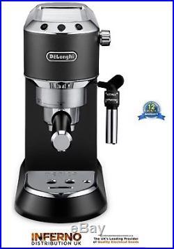 DELONGHI DEDICA EC685. BK 15 Bar Pump Espresso / Slimline Coffee Machine in Black