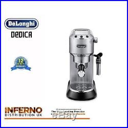 DELONGHI DEDICA EC685. M 15 Bar Pump Espresso / Slimline Coffee Machine Stainless