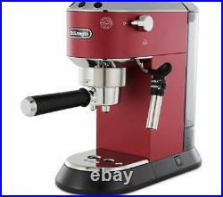 DELONGHI Dedica EC685R Coffee Machine Red Currys