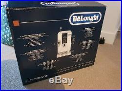 DELONGHI Dinamica ECAM 350.35. W Bean to Cup Coffee Machine White