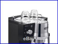 DELONGHI EC820. B 15 Bar Pump Espresso / Coffee Machine / Beverage, in Black