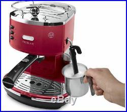 DELONGHI Icona Micalite ECOM 311. R Coffee Machine Red Currys