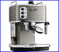 DELONGHI Scultura ECZ351BG Espresso Machine Champagne Currys