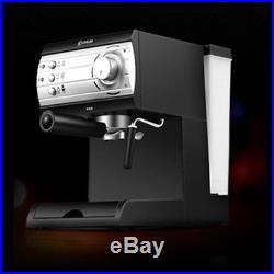 DL-KF6001 Semi Automatic Coffee Maker Barista Espresso Machine Milk Steamer New