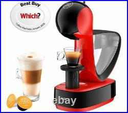 DOLCE GUSTO by De'Longhi Infinissima EDG260. R Coffee Machine Red & Black