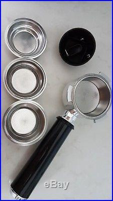 DeLonghi Dedica EC680 Espresso Coffee Machine auto silver includes manual