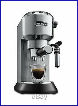 DeLonghi Dedica EC685. M Traditional Pump Espresso Coffee Machine (Silver) B+