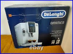 DeLonghi Dinamica ECAM350.35. W automatic Bean-to-Cup coffee machine White BNIB