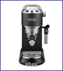 DeLonghi EC685. BK Espresso Coffee Machine Milk Frother 15 Bar Black C Grade