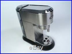 DeLonghi EC685. M Dedica Traditional Pump Espresso Coffee Machine Silver