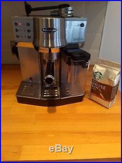 DeLonghi EC860. M espresso coffee machine. Automatic latte and cappuccino maker