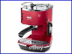 DeLonghi ECOM311R Icona MicaLite Espresso& Cappuccino 15Bar Pump Coffee Machine