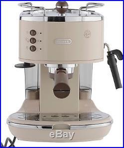 Delonghi Ecov310bg Vintage Espresso Coffee Machine Cream