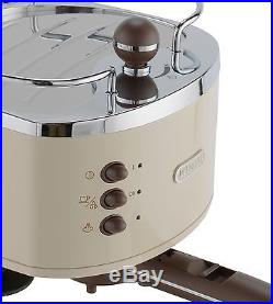 DeLonghi ECOV310BG Vintage Espresso Coffee Machine Cream -From Argos on ebay