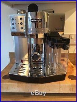 DeLonghi EC 860. M Espresso Coffee Machine Automatic Cappuccino Silver