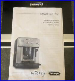 DeLonghi Esam2600 CAFFE Corso Bean to Cup Espresso Cappuccino Coffee Machine