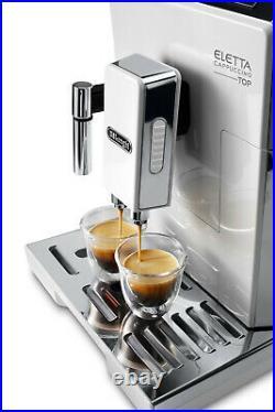 De'Longhi Bean to Cup Coffee Machine Eletta Cappuccino Top ECAM45.760. W Refurb