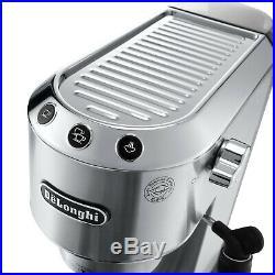 De'Longhi Dedica EC685. M Pump Espresso Machine in Silver. Refurbished