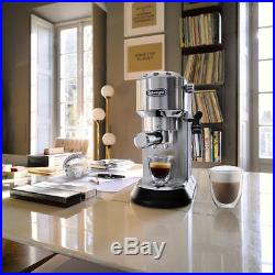 De'Longhi Dedica Pump Espresso Coffee Machine for Home, EC685. M Stylish Design
