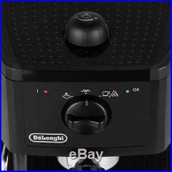 De'Longhi EC146. B Traditional Pump Espresso Coffee Machine 15 bar Black New