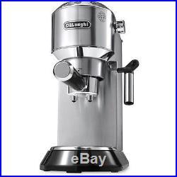 De'Longhi EC680. M Dedica Traditional Pump Espresso Coffee Machine 15 bar Silver