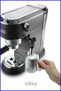 De'Longhi EC685BK Dedica Style Pump Espresso Coffee Machine (Black) B+