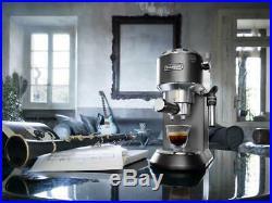 De'Longhi EC685BK NEW 1.1L 1300W Dedica Pump Espresso Maker Coffee Machine