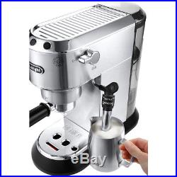 De'Longhi EC685. M Dedica Traditional Pump Espresso Coffee Machine 15 bar Silver