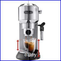 De'Longhi EC685. R Dedica Traditional Pump Espresso Coffee Machine 15 bar Red