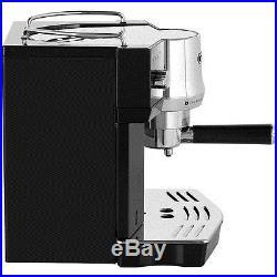 De'Longhi EC820. B Traditional Pump Espresso Coffee Machine 15 bar Black New