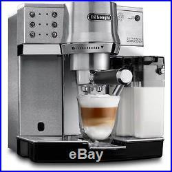 De'Longhi EC860. M Traditional Pump Espresso Coffee Machine 15 bar Silver New
