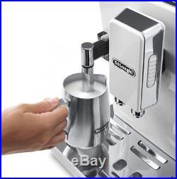 De'Longhi ECAM45.760W Eletta Plus Bean To Cup Espresso Top Coffee Machine. New