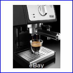 De'Longhi ECP33.21 Pump Espresso Machine Black (Coffee Pod Compatible)