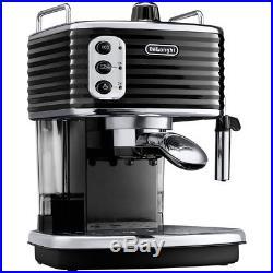 De'Longhi ECZ351. BK Scultura Espresso Coffee Machine 15 bar Black New from AO