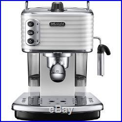 De'Longhi ECZ351. W Scultura Espresso Coffee Machine 15 bar White New from AO