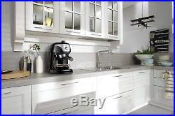 De'Longhi Motivo Espresso Coffee Machine 15 Bar 1L 1100W Black